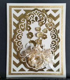 kortblogger: Guld og glimmer kort.
