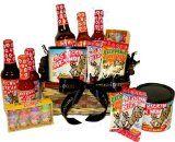 Ass Basket, Ass Kickin' Hot Sauce Gift Basket - http://tonysgifts.net/2015/03/21/ass-basket-ass-kickin-hot-sauce-gift-basket/