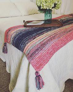 Just Marl It Throw Blanket Free Crochet Pattern | Free Crochet Patterns