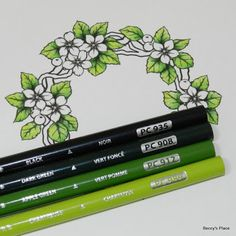 Beccy's Place: Tutorial: Colouring with Pencils