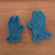 Bluey Cookie Cutter and Fondant Stamp Set Abc Birthday Parties, Abc Party, 4th Birthday Cakes, Dog Birthday, 1st Birthday Girls, Birthday Ideas, Fondant Stamping, Cartoon Cookie, Abc For Kids