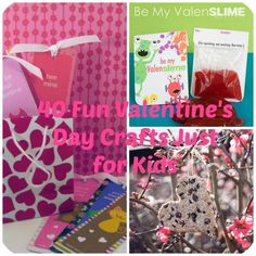 40 Simple Fun Valentine's Day Craft Ideas Just for Kids - DIY Projects for Making Money - Big DIY Ideas