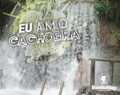 Para quem ama cachoeira!  Foto: Ceita Corê - Bonito/MS  #euamocachoeira