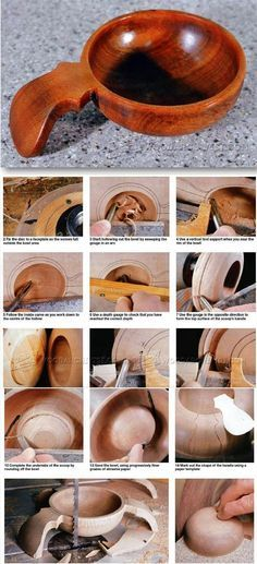 Woodturning Scoop - Woodturning Projects and Techniques - Woodwork, Woodworking, Woodworking Tips, Woodworking Techniques Router Woodworking, Learn Woodworking, Woodworking Techniques, Woodworking Projects Plans, Wood Turning Lathe, Wood Turning Projects, Wood Vase, Wood Bowls, Lathe Projects