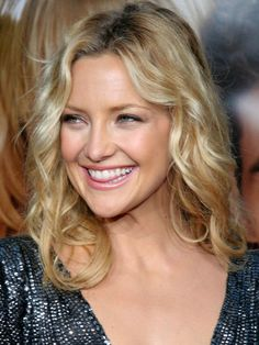 Kate Hudson . . so fun!  Just like her mother Goldie Hawn!
