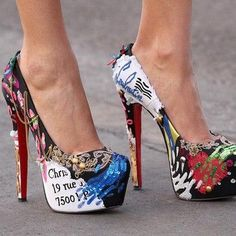 Shoes Can Make A Chic Do Crazy Things...♥