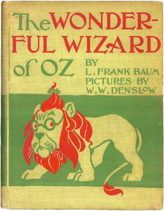 The Wonderful Wizard of Oz by L Frank Baum. The book is much better then the movie This Is A Book, The Book, Wizard Of Oz Book, Wizard Oz, Oz Series, Material Didático, Reading Material, Design Brochure, Vintage Children's Books