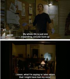 True Detective True Detective Quotes, True Detective Season 1, Detective Series, Movie Talk, I Movie, Tv Show Quotes, Movie Quotes, Pillow Thoughts, Movie Lines