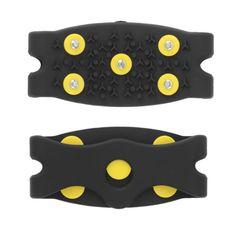 縫う新しい到着アンチスリップ雪氷クライミングスパイクグリップアイゼンクリート5-Stud靴カバー送料無料