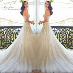 2015 Elegant Luxury A-Line Appliqued  Lace Tulle Sweetheart Wedding Dresses Beaded Belt Beautiful Bridal Gowns ST75