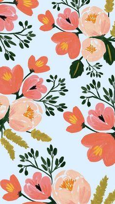 Rifle Paper Co. iP… Rifle Paper Co. iPhone 6 plus Spring floral wallpaper Wallpaper Flower, Floral Wallpaper Iphone, Tumblr Iphone Wallpaper, Flower Backgrounds, Pattern Wallpaper, Desktop Wallpapers, Iphone Backgrounds, Painting Wallpaper, Screen Wallpaper
