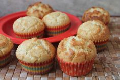 Bakery Style Vanilla Muffins Recipe - Yummy Tummy Bakery Style Muffin Recipe, Vanilla Muffin Recipe, Cinnamon Muffins, Cupcake Cases, Vanilla Essence, Melted Butter, Muffin Recipes, Bakeries, Baking