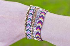 Brass Bead Bracelet Tutorial
