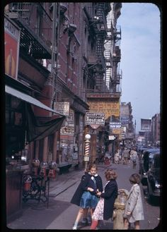vintage everyday: Vintage Photos of Manhattan in The 1940s