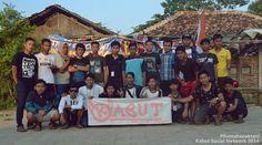 KabutSocialNetwork #17agustus2015 Desa kalibuaya bikin acara. #KABUT