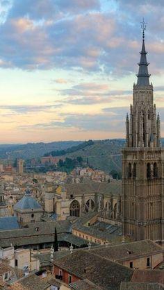 Torre de la Catedral. Toledo, Spain