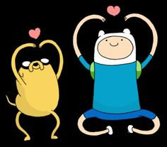 Yaaay! Its Finn and Jake! ❤