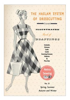 The Haslam System of Dressmaking No. 31 1950's  by MyVintageWish
