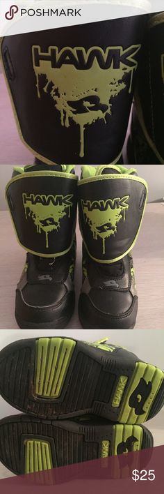 Boys HAWK winter boots Great velcro closure winter boots, sturdy soles & material Tony Hawk Shoes Boots