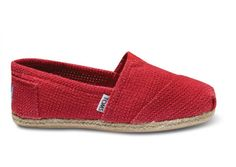 Toms Freetown Red Herre Classics shoes