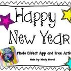 I use the New Year Photo App with my students the 1st day we get back from break. Included is a small activity which students make a goal. After th...
