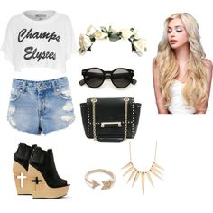"""Untitled #73"" by vanessaguerraa on Polyvore"