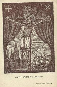 Cofradías y Hermandades Antiguas de España y la Cristiandad: El Santo Cristo de la Galera de don Juan de Austria
