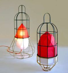 Let the Urban Camper Project by Chieh-Ting Huang Light Up Your Life #homedecor trendhunter.com