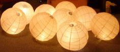 Multiple ways for DIY lantern lighting