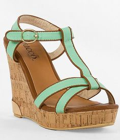 'Bucco Septima Sandal' #buckle #wedges #shoes www.buckle.com