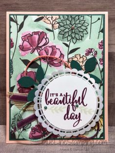 Beautiful Day for InKing Royalty Blog Hop - Blue Line Stamping