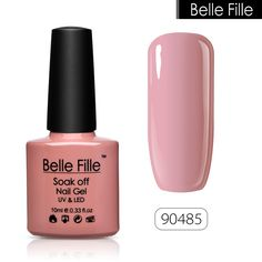 10ml Nude Colors UV Gel Nail Polish Clear Colors Cranberry Red Bling Soak Off Varnish Nail Art Long Lasting gel lacquer