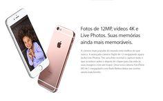Fotos de 12MP, vídeos 4K e  Live Photos. Suas memórias  ainda mais memoráveis. - https://www.magazinevoce.com.br/magazinevrshop/busca/iPhone/?sort=-price