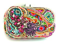 The One of a Kind Clutch Example by DolorisPetunia on Etsy, $1200.00