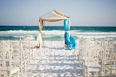 Beach ceremony... Beautiful!