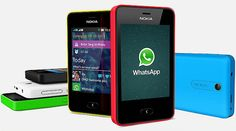 WhatsApp di Nokia Asha 501