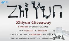 zhiyun giveaway asdds