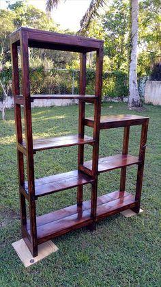 Multi-functional Wooden Pallet Rack Unit | 99 Pallets