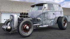 VW Bus hot rod