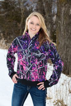 Stay warm in style with the Muddy Girl hoodie! Delivering maximum comfort and a kangaroo pocket for hand warmth, this pink and purple camo hoodie is a must. Purple Camo, Pink Camouflage, Pink Camo Hoodie, Muddy Girl Camo, Camo Shirts, Funny Shirts, Hunting Clothes, Casual Wear, Pink Ladies