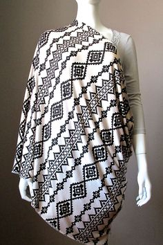 Baby Mum Breastfeeding Nursing  Cover Up Udder Covers Cotton Blanket Shawl Scarf #Handmade