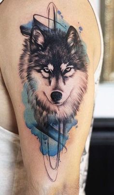 50 Of The Most Beautiful Wolf Tattoo Des. - - 50 Of The Most Beautiful Wolf Tattoo Des… – - Wolf Tattoos Men, Native Tattoos, Animal Tattoos, Tattoo Drawings, Body Art Tattoos, Girl Tattoos, Tattoos For Guys, Wolf Tattoo Sleeve, Sleeve Tattoos For Women