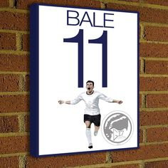 Gareth Bale Canvas Print  Tottenham Hotspur F.C. - Pick Your Size, poster, art, wall decor, spurs, premier league by Graphics17 on Etsy