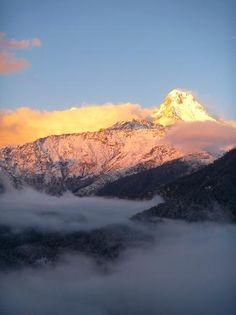 Kathmandu, Nepal: beautiful Annapurna