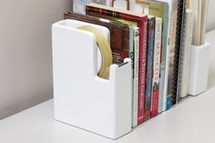 Tape Dispenser bookends from Ideaco