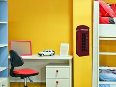 Add a touch of flair to your home with this small British phone box wall sticker from The Binary Box. The perfect wall sticker for bedrooms and offices. Wall Stickers London, Small Wall Stickers, Wall Decals, British Style, British Fashion, Easy Install, Adhesive Vinyl, Filing Cabinet, Locker Storage