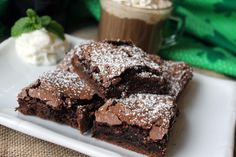 These are very moist, not so much like cake but like fudgey brownies.  So yummy!