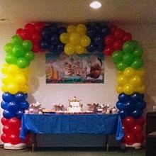 Color by Color Balloon Arch
