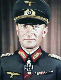 General der Panzertruppe Joachim Hermann August Lemelsen (28 September 1888 – 30 March 1954) Knight's Cross on 27 July 1941 as General der Panzertruppe and commanding general of the XXXXVII. Panzerkorps; 294th Oak Leaves on 7 September 1943 as General der Panzertruppe and commanding general of the XXXXVII. Panzerkorps