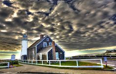 Scituate Lighthouse post-Hanna by bporner, via Flickr